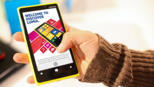 Nokia Discover Lumia Design